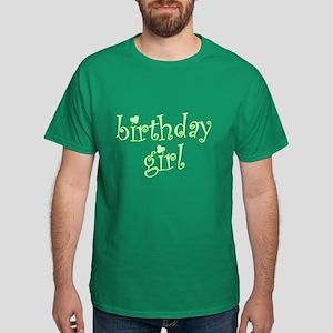 Irish Birthday Girl Dark T-Shirt