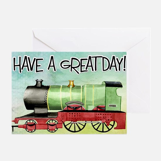 Funny Have a great day Greeting Card