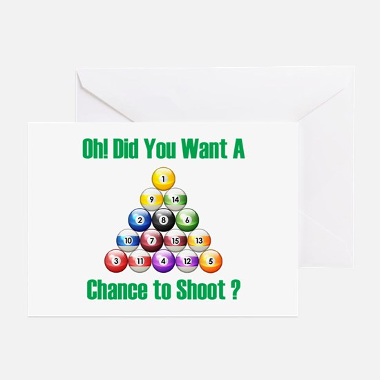 Chance To Shoot Greeting Cards (Pk of 10)
