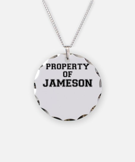 Property of JAMESON Necklace