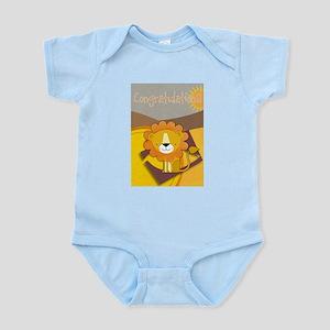 Congratulations Lion Body Suit