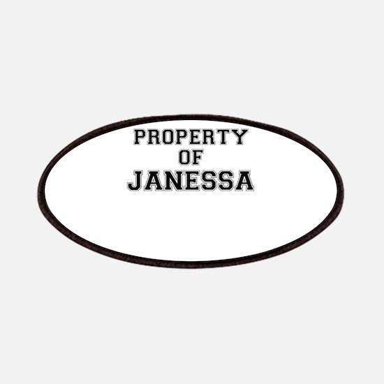 Property of JANESSA Patch