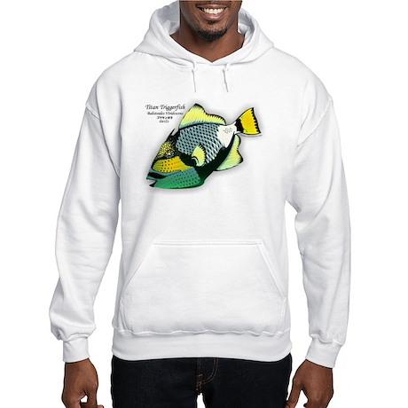Titan Triggerfish Hooded Sweatshirt