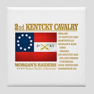 2nd Kentucky Cavalry Tile Coaster