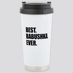 Best Babushka Ever Drinkware Travel Mug
