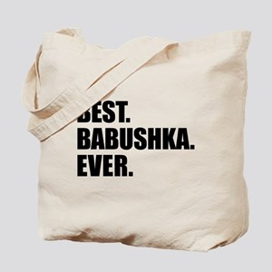 Best Babushka Ever Drinkware Tote Bag