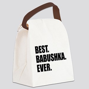Best Babushka Ever Drinkware Canvas Lunch Bag