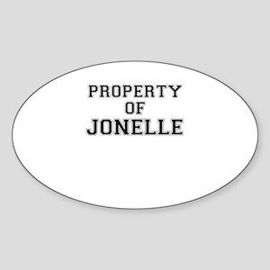 Property of JONELLE Sticker