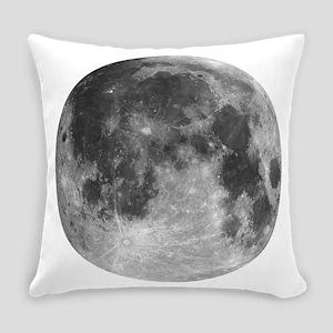 Beautiful full moon Everyday Pillow
