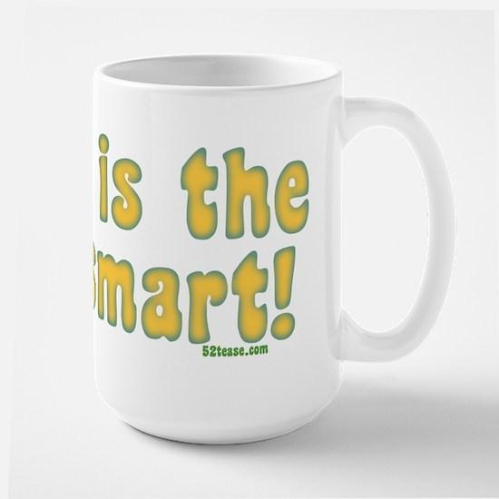 Blonde is the New Smart Large Mug