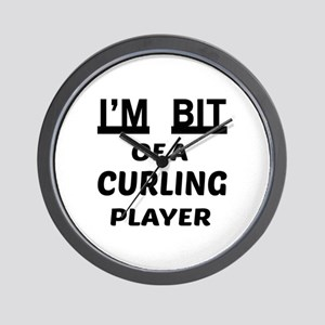 I'm bit of a Curling player Wall Clock