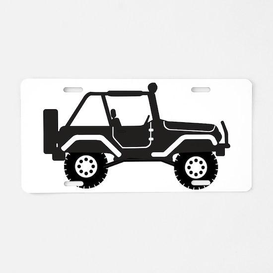 my 4 Wheeler Aluminum License Plate
