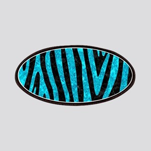 SKIN4 BLACK MARBLE & TURQUOISE MARBLE (R) Patch