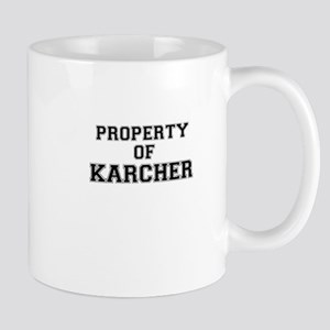 Property of KARCHER Mugs