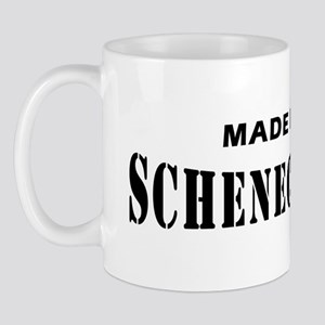 Made in schenectady NY T-shir Mug