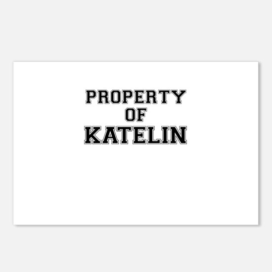 Property of KATELIN Postcards (Package of 8)
