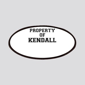 Property of KENDALL Patch