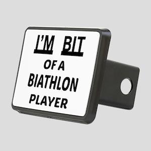I'm bit of a Biathlon play Rectangular Hitch Cover