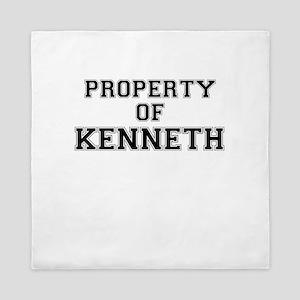 Property of KENNETH Queen Duvet