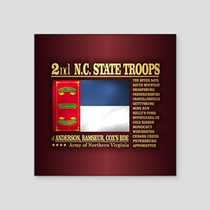 2nd NC State Troops Sticker