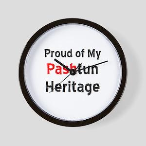 pashtun heritage Wall Clock