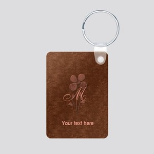 Cute Copper Look Flower Keychains
