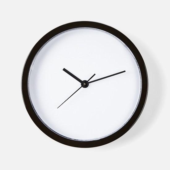 Property of KIRSTEN Wall Clock