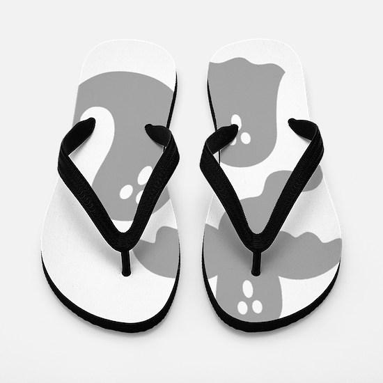 GHOST TRIO Flip Flops