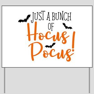 HOCUS POCUS Yard Sign