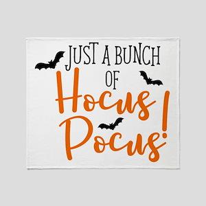 HOCUS POCUS Throw Blanket