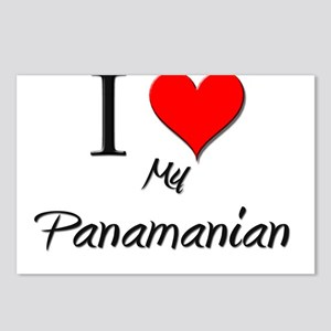 I Love My Panamanian Postcards (Package of 8)