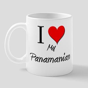 I Love My Panamanian Mug