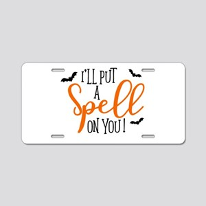 SPELL ON YOU Aluminum License Plate