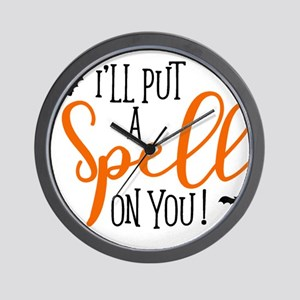 SPELL ON YOU Wall Clock