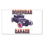 5 Window BoneHead Customz Rectangle Sticker