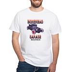 5 Window BoneHead Customz White T-Shirt