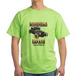 5 Window BoneHead Customz Green T-Shirt