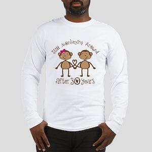 30th Anniversary Love Monkeys Long Sleeve T-Shirt