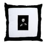 Zoe Goddess Throw Pillow