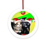 Linda Ornament (Round)