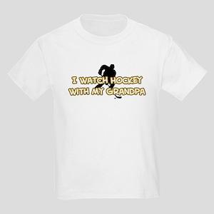 Boston Hockey Grandpa Kids Light T-Shirt