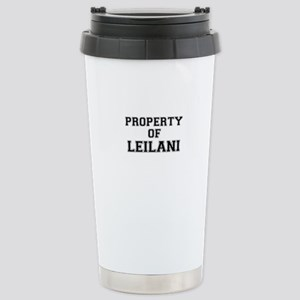 Property of LEILANI Stainless Steel Travel Mug