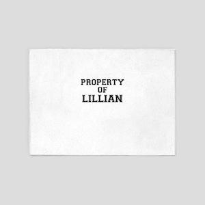 Property of LILLIAN 5'x7'Area Rug