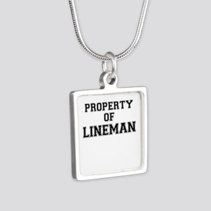 Property of LINEMAN Necklaces