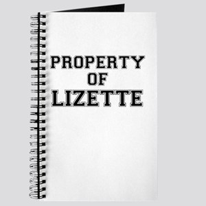 Property of LIZETTE Journal