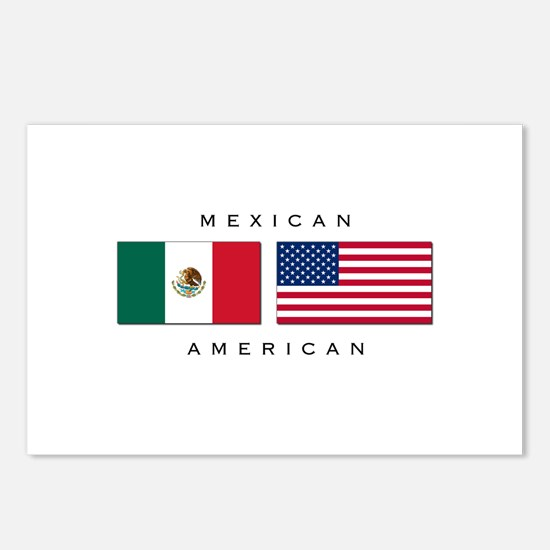 Mexican American Postcards (Package of 8)