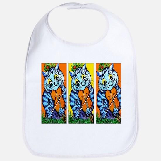 VINTAGE CAT ART Bib