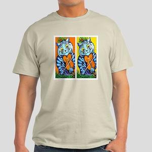 VINTAGE CAT ART Light T-Shirt