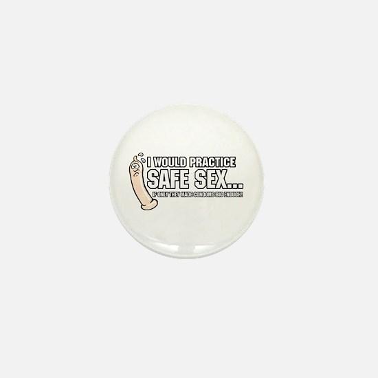 SAFE SEX Mini Button