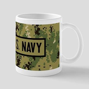 U.S. Navy: U.S. Navy (Camo) 11 oz Ceramic Mug